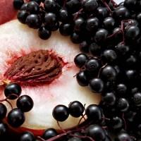 Holunderbeeren Pfirsich Fruchtaufstrich