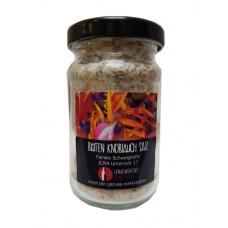 Blüten Knoblauch Salz